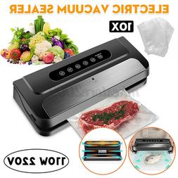 110W Electric Food Vacuum Sealer Machine For Storage Packing