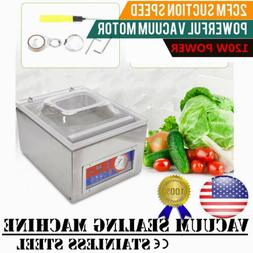 """10"""" Vacuum Sealer, Commercial Kitchen Food Chamber Tabletop"""