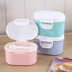 Baby Milk Powder Storage Box Infant Feeding Container Food D
