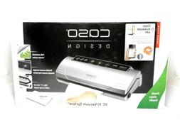 CASO DESIGN 11340 VC 10 VACUUM SEALER WITH FOOD MANAGEMENT ~