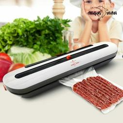 Electric Vacuum Sealer Packaging Machine For Home Kitchen In