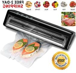 Food Vacuum Sealer Saver Machine Home Sealing System Meal Fr
