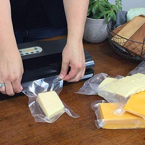 FoodVacBags 2-pack Vacuum mil Commercial for Sous Vide Foodsaver