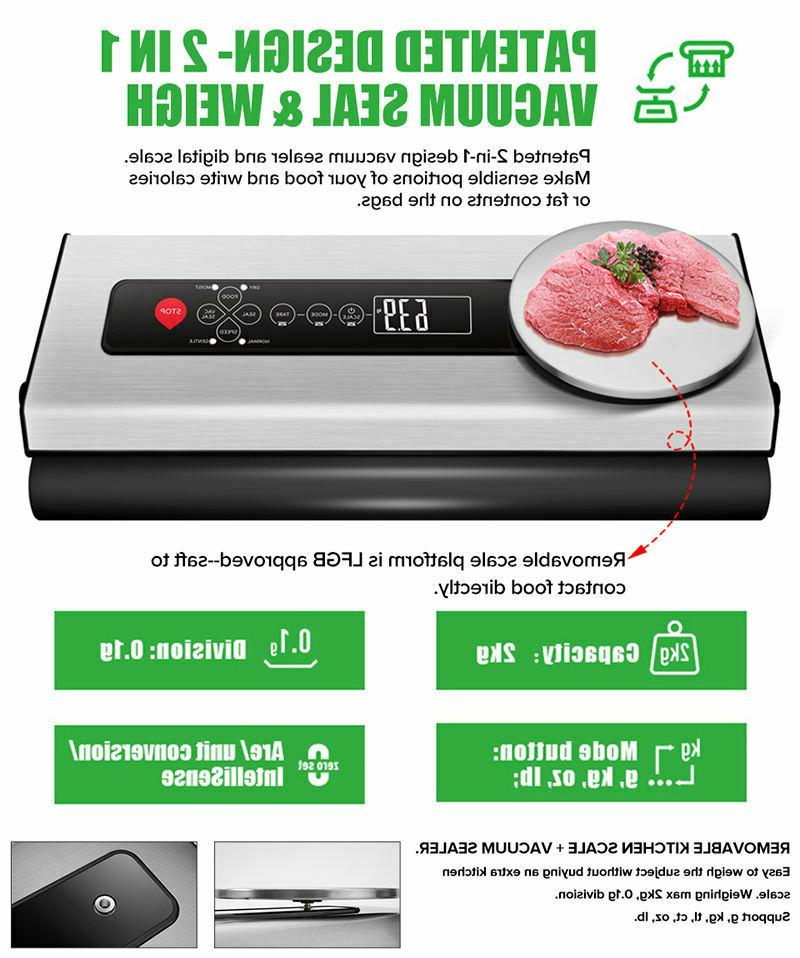 Commercial with Digital Scale Steel Machine