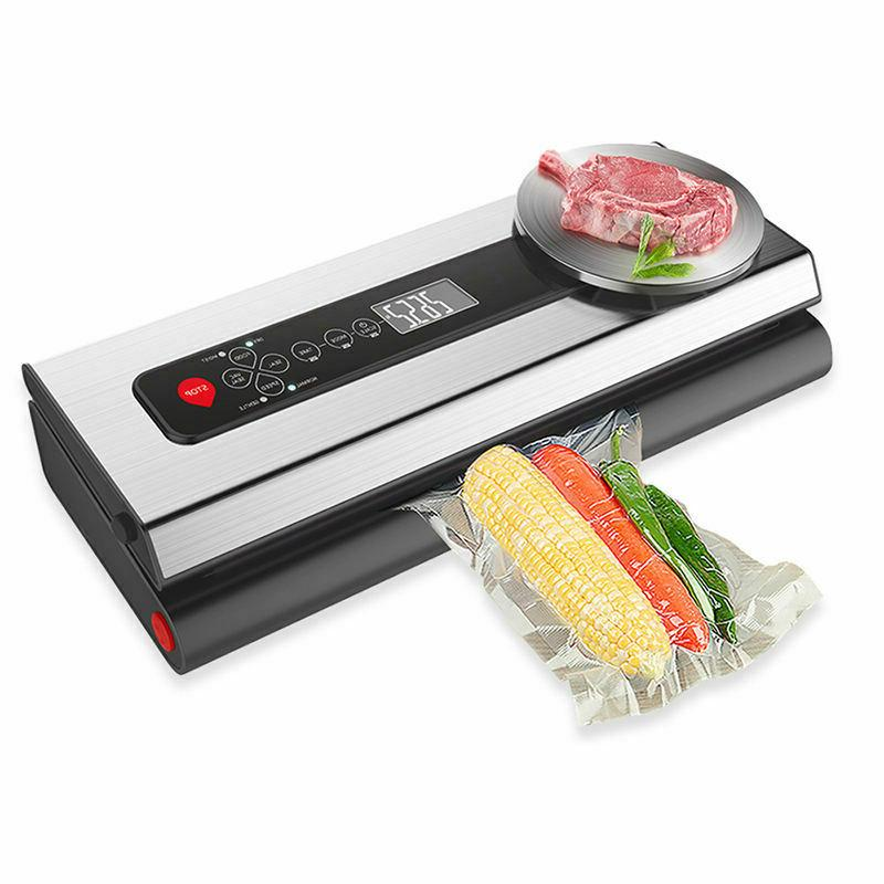 commercial food vacuum sealer with digital scale