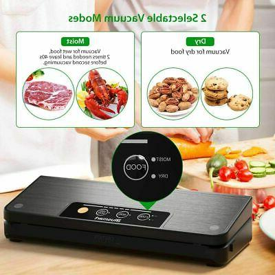 Commercial Vacuum Food Saver With Free Bags Wet Mode