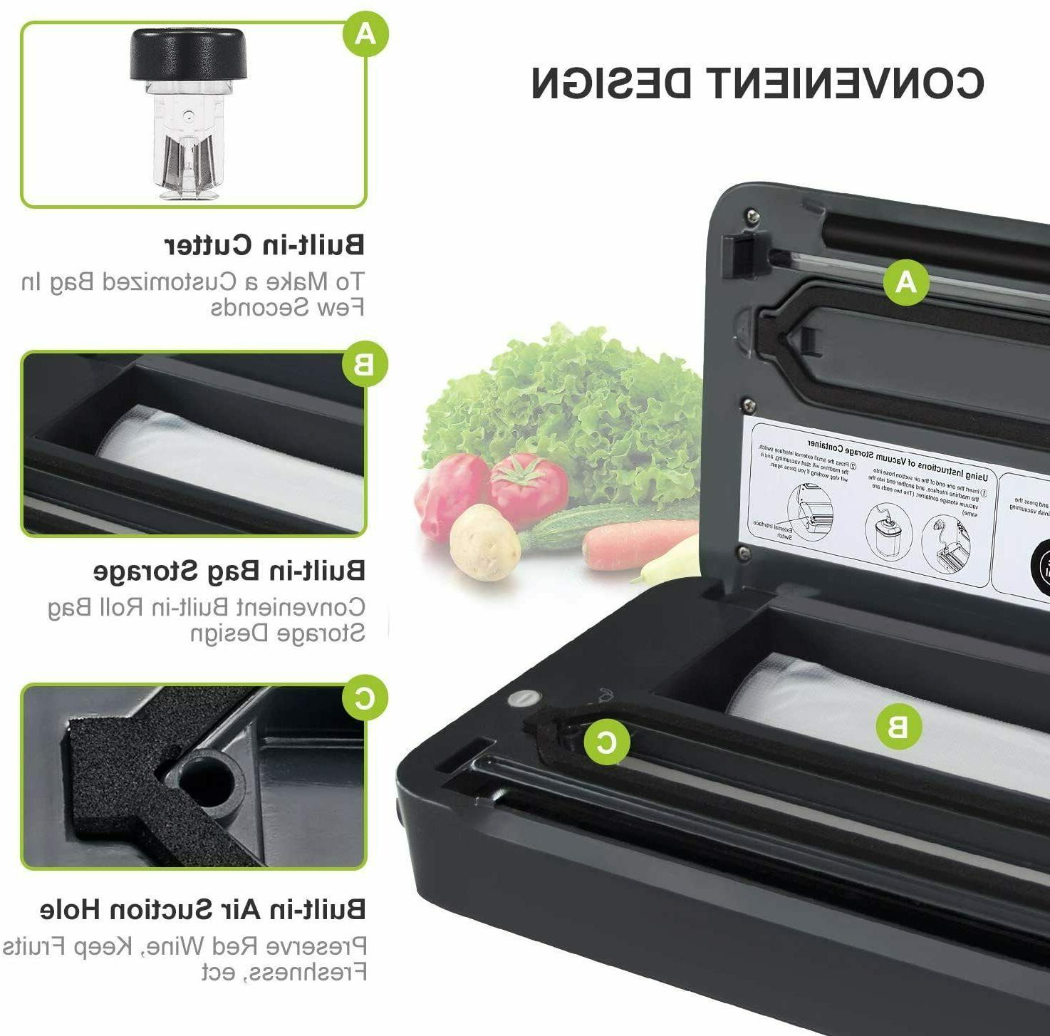 Commercial Vacuum Sealer Seal a Meal Food Bags