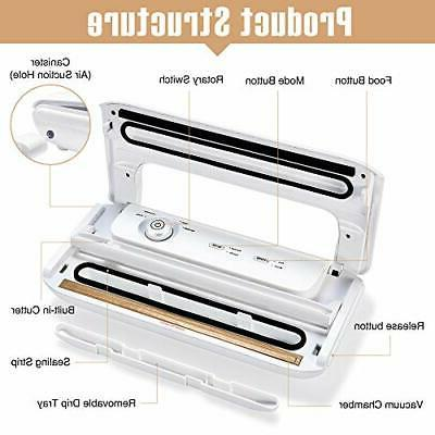 Food Machine Compact Removable Tray