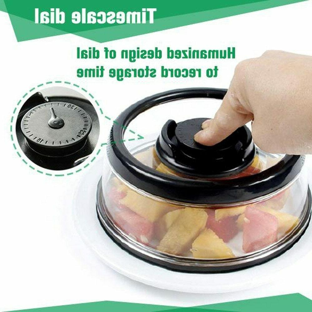 Food Sealer Cover Plastic Instant Refrigerator Tool