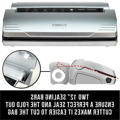 CASO Vacuum Electric Preserving Stainless Steel New