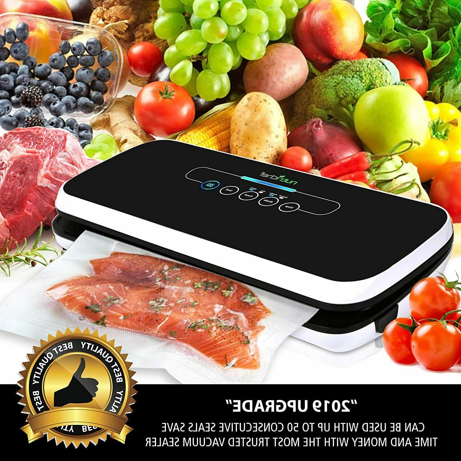 NutriChef Vacuum Automatic System For