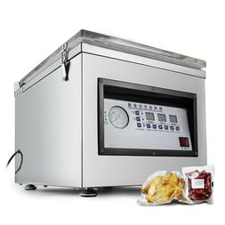 Vacuum Packaging Machine Commercial SS Kitchen Food Chamber