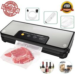 Vacuum Sealer 80Kpa Stainless Steel Food Sealer Machine Air
