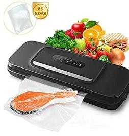 Vacuum Sealer Machine for Food- Automatic Food Sealer for Fo