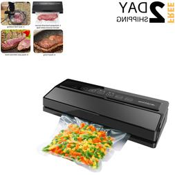Wet Food Sealer Vacuum Machine Automatic Sealing Moist Dry N