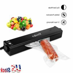 Ymiko Vacuum Sealer System Seal Meal Foodsaver Machine Fresh